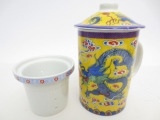 Tea mug, Blue Dragon