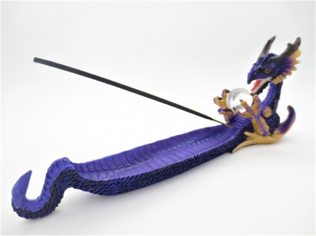 Purple Dragon incense holder