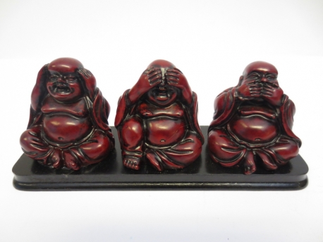wholesale - Buddhas Red hear see silence small