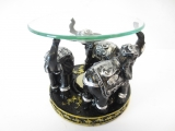 3 Elephants oil burner black/silver