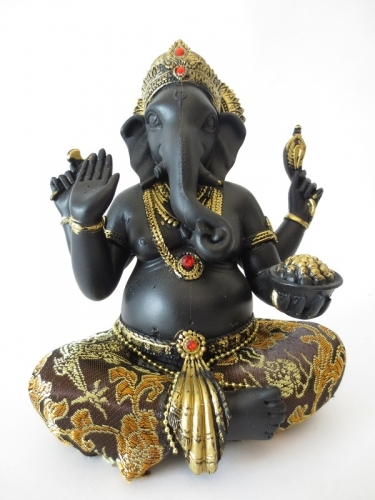 Ganesha gold/black II