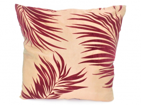 Cushion cover #9 brown/red