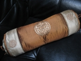 Cushion cover #18 gold/brown