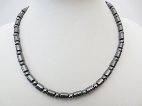 necklace with one black bead