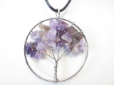 Tree of Life Necklace amethyst