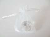 Organza Gift Bag White