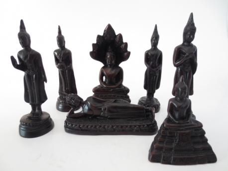 Lucky day Buddha: 7 days set (small)