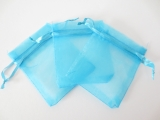 Organza Gift Bag Turquoise