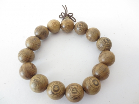Mala prayer bead bracelet Sandalwood 1.5m