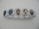 bracelet blessed 12 pieces (White)