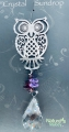 Cosmo Crystal Pendant Wholesale - Owl