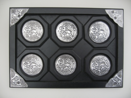 Cup holders set 6 in frame
