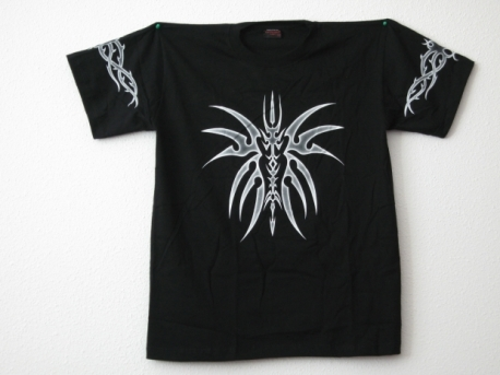 Tribal t-shirt with fantasy figure