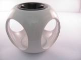Oil burner oval white