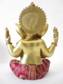 Ganesha gold/red