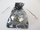 Organza Gifts bag Black