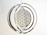 Cosmo Wind Spinner Flower of Life