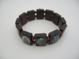 bracelet blessed 12 pieces (Brown)