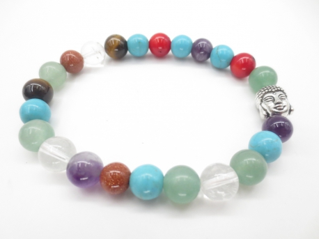 8mm bracelet Mixed Buddha