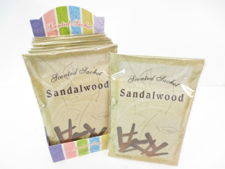Luxury Sandalwood fragrance bags set of 12 (large)