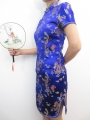 Short Dress Dragon / Phoenix blue size 34