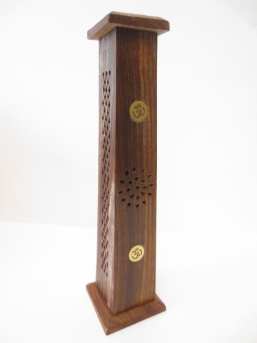 Wooden Incense Tower OM