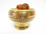 (grain) incense burner brass