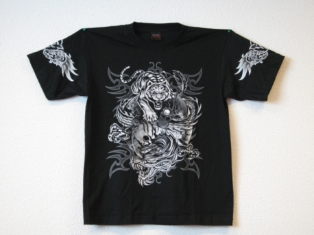 T-shirt Dragons with Tiger